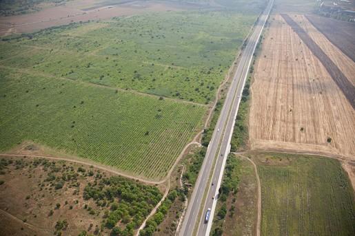 магистрала Варна от въздуха
